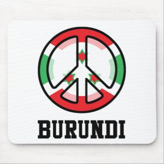Peace In Burundi Mouse Pad