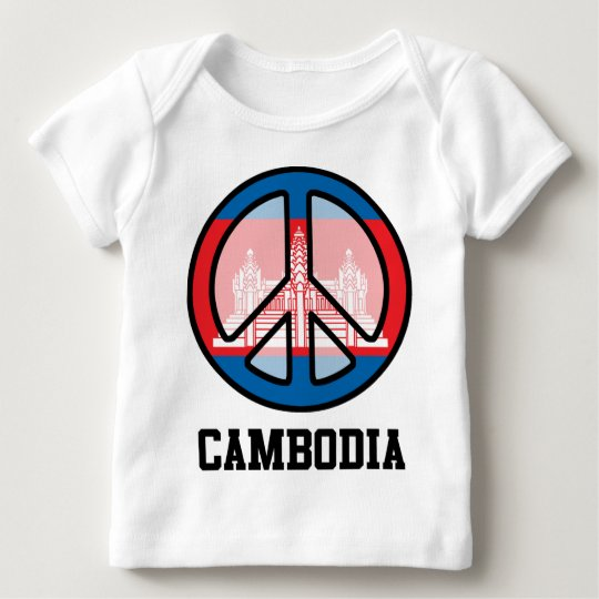 Peace In Cambodia Baby T-Shirt