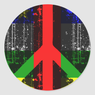 Peace In Central African Republic Stickers