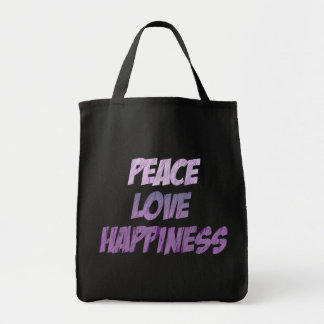 Peace in Chalk Tote Bag