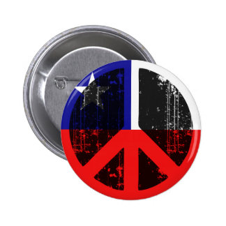 Peace In Chile Pinback Buttons