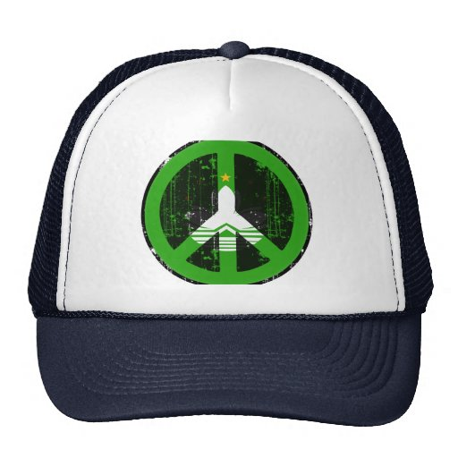 Peace In China Macao Trucker Hat