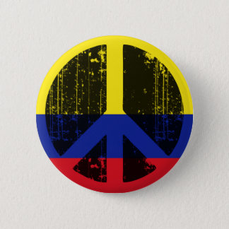 Peace In Colombia Button