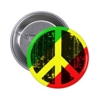 Peace In Congo Brazzaville Pinback Button