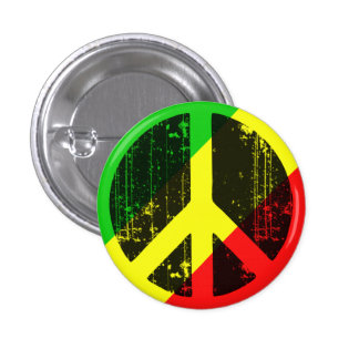 Peace In Congo Brazzaville Pinback Buttons