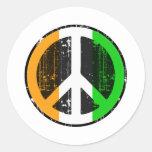Peace In Cote Divoire Sticker