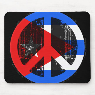 Peace In Cuba Mouse Pad