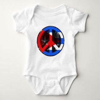 Peace In Cuba T Shirt
