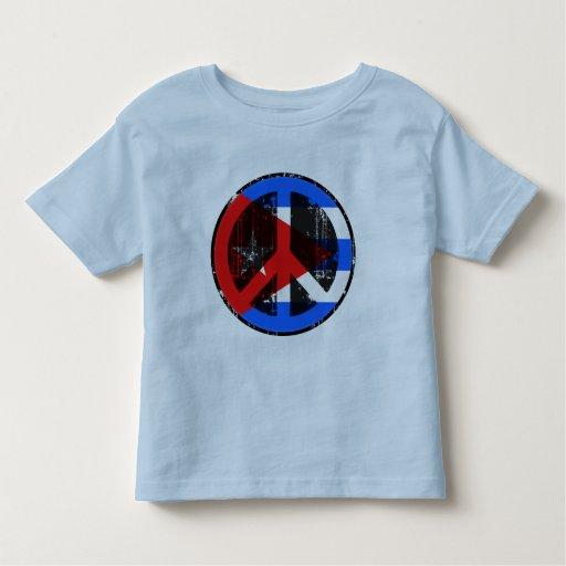 Peace In Cuba Toddler T-shirt
