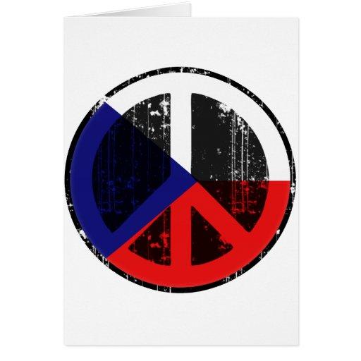 Peace In Czech Cards