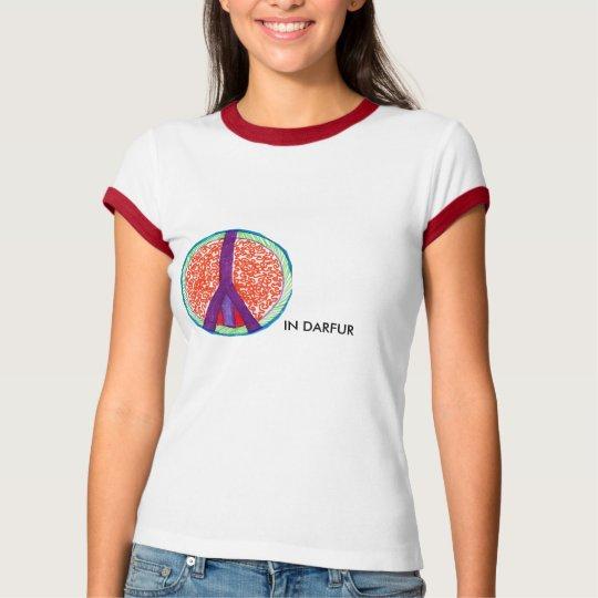 peace in darfur t-shirt