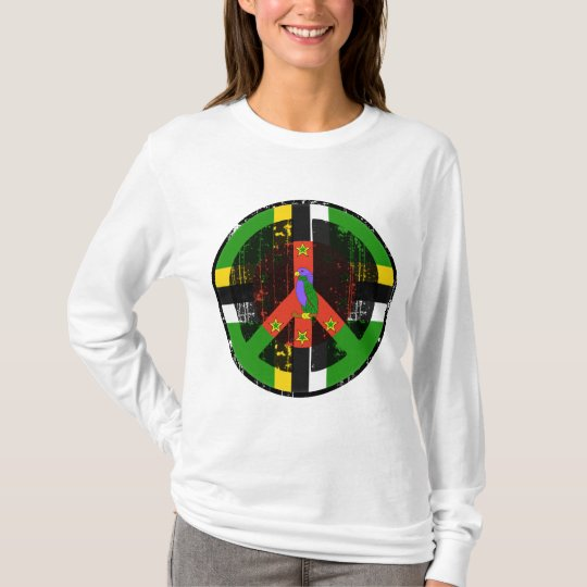Peace In Dominica T-Shirt