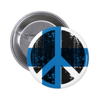 Peace In Finland 2 Inch Round Button