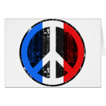 Peace In France Card
