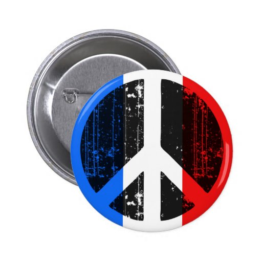 Peace In France Pin