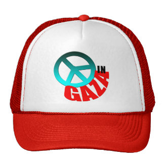 Peace in Gaza Buttons and T-Shirts Mesh Hat