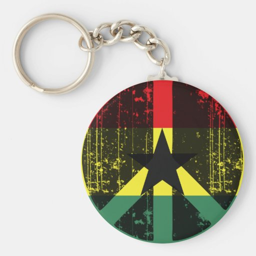 Peace In Ghana Key Chain