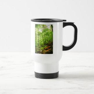 """Peace in Green"" Travel Mug"
