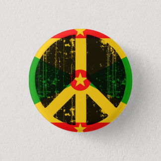Peace In Greneda Pinback Button