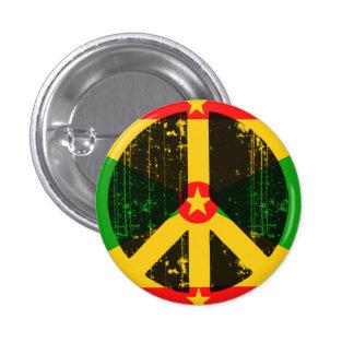 Peace In Greneda Pinback Button