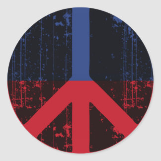 Peace In Haiti Stickers