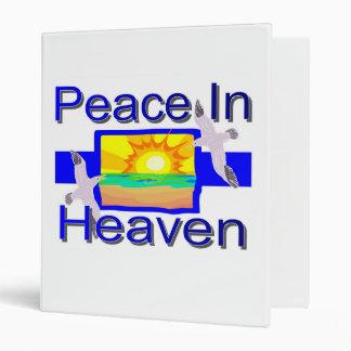Peace in Heaven Binder