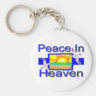 Peace in Heaven Keychain