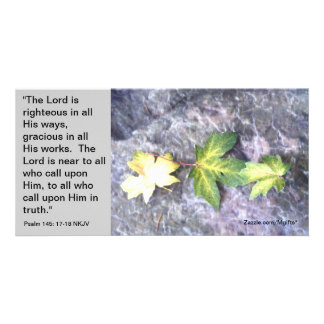 Peace in His Presence Card