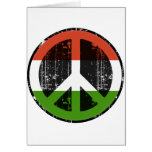 Peace In Hungary Greeting Cards