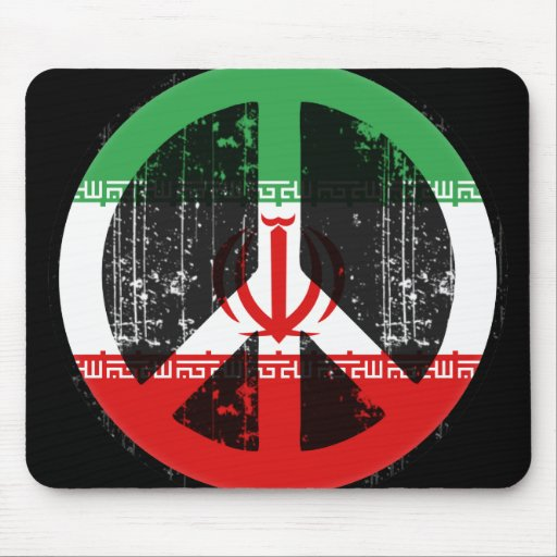 Peace In Iran Mouse Pad