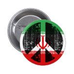 Peace In Iran Pinback Button