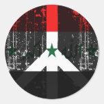 Peace In Iraq Classic Round Sticker