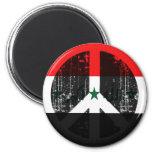 Peace In Iraq Fridge Magnet
