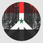 Peace In Iraq Round Stickers