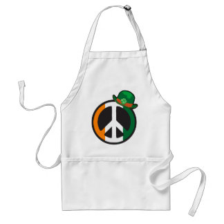 PEACE IN IRELAND ADULT APRON