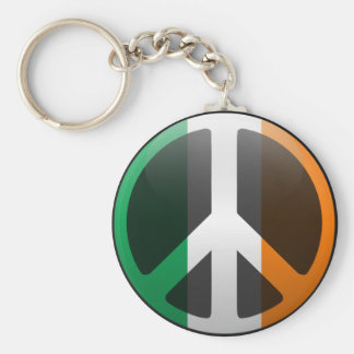 Peace in Ireland Keychain