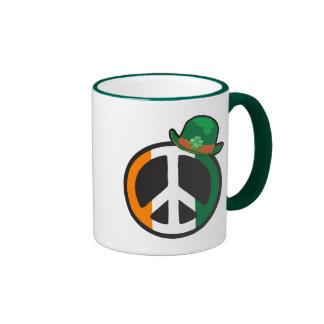 PEACE IN IRELAND RINGER COFFEE MUG