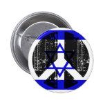 Peace In Israel Pin