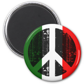 Peace In Italy Fridge Magnet