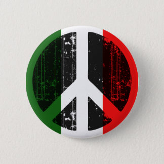 Peace In Italy Pinback Button