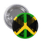 Peace In Jamaica Buttons