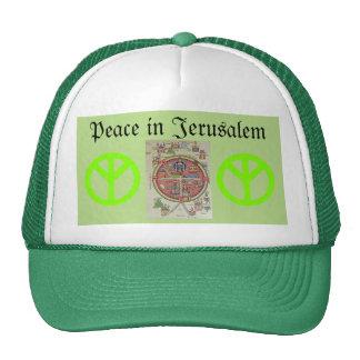 Peace in Jerusalem hat