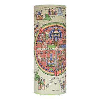 Peace in Jerusalem LED candle