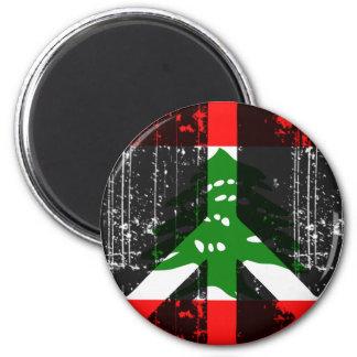 Peace In Lebanon Fridge Magnets