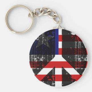 Peace In Liberia Key Chains