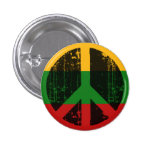 Peace In Lithuania Pin