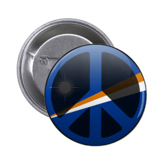Peace in Marshall Islands Button