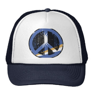 Peace In Marshall Islands Mesh Hat