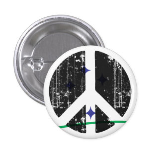 Peace In Mercosur 1 Inch Round Button