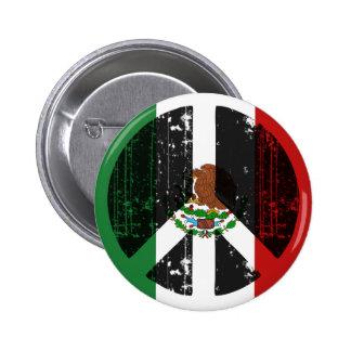 Peace In Mexico Button